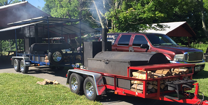 MR. BBQ 911 Catering Smoker Truck