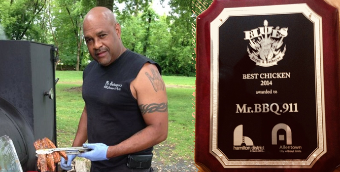 mr bbq 911 best chicken award